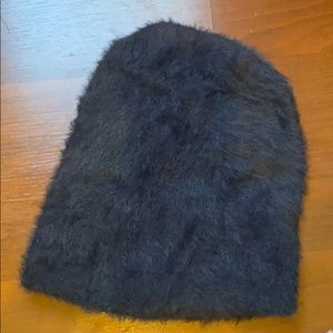 Anthropologie Accessories - Fuzzy Embellished Hat